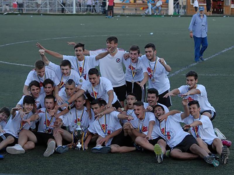Ακαδημία Ποδοσφαίρου Μεσογείων ΝΙΚΗΤΕΣ - Πρωτάθλημα Εφήβων ΕΠΣΑΝΑ 2014 - 2015