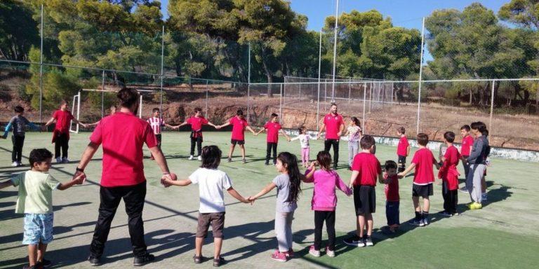 Read more about the article Επίσκεψη στο κέντρο προσφύγων Λαυρίου